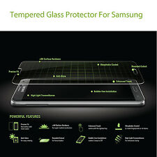 HD Tempered Clear Crystal Glass Protector Guard For Samsung Galaxy All Models