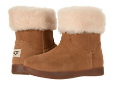Toddler UGG Australia Jorie II 1003656T Chestnut Suede 100% Authentic Brand New