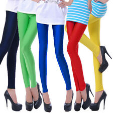 Fluorescent colors Sexy Cool Polyester Spandex Leggings Tights Pants For Lady