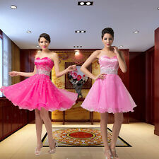 NEW Stunning Beads Short Prom Party Homecoming Cocktail Evening Bridesmaid Dress