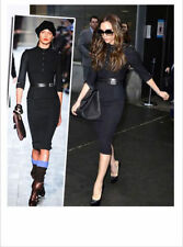 High Quality Victoria beckham Military pencil party office work dress.