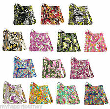 VERA BRADLEY Hipster Crossbody Shoulder Bag Purse Multi Colors NWT