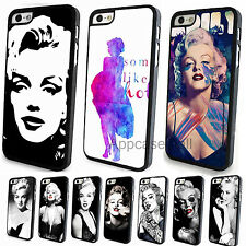 Painted Retro Grace Sexy Marilyn Monroe Case Cover for Apple iPhone 4 4S 5 5S 5C