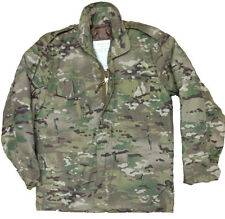 Jacket Men Multi-cam US M65 Field Quilted Liner MTP Military Army Combat Coat