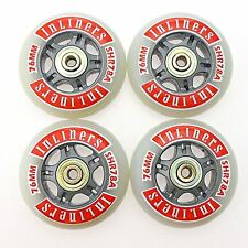 SUPER HIGH REBOUND INLINE SKATES WHEELS ROLLERSKATES FOR ALL SKATING SURFACES