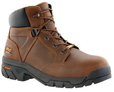 """Mens Timberland PRO Helix 6"""" Work Boot Safety Toe Waterproof Leather (E,W) 85594"""