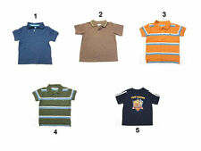 NEW All Major Brand Polo shirts T-shirts For Baby Toddler Boy short sleeve sz 12