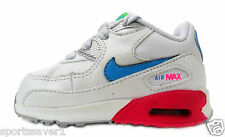 Nike Air Max 90 2007 Little Toddlers Trainers White/Cherry Product ID 408112 108