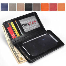 Men-s / Unisex Bi-Fold Bicast Leather Wallet Case M|A7 fits Mobile Smart-Phone