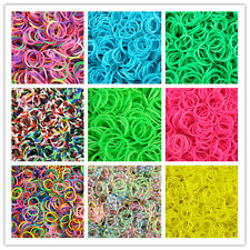 600PCS Hot Silicone Eco-friendly Rubber bands Kids Gift Preparing Free PP Come