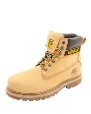 """Caterpillar Wide  CAT  6"""" Steel Toe EH Boots Style Holton ST Sizes 7 thru 13"""