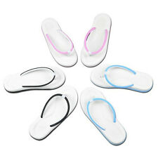 New Fashion Women Men's Slip On Flats Slippers T-Strap Flip Flops Sandals Shoes