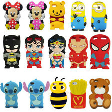Disney 3D Cute Cartoon Silicon Soft Gel Cover Case For ipod touch 5 5th 5g gen