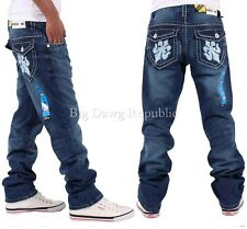 Peviani Mens Boys Etchingham True Star Jeans Time Is Nappy Money G Religion Wear
