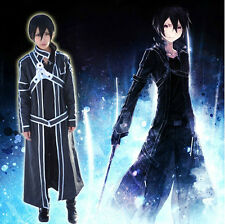 PRECO Sword Art Online Kirito Cosplay Clothe and Weapon