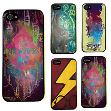 Funny Hogwarts Harry Potter The Marauders Patter Hard Cover Case For iphone 4 4S