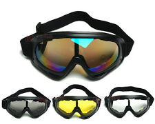 Anti-UV Motorcycle Motocross ATV Off-Road Riding Goggles Sports Multiple Colors