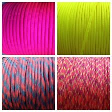 Where can I buy cheap paracord? neon colors, 100 ft for paracord projects!