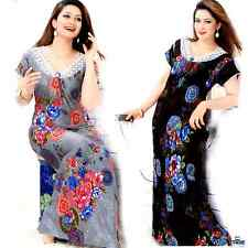 WOMENS  PLUS SIZE FLORAL PRINT STRETCHY NIGHTSHIRTS NIGHTIES NIGHTGOWN 8-20
