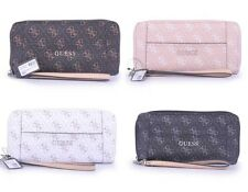 Delaney 4G Logo Affair Classic Zip Around Wallet 4 Colors Multi Women Purse NWT