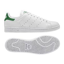 Adidas Originals Mens Stan Smith 2 II Trainers White green Size 6 to 11 BNWT