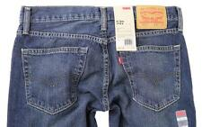 NEW LEVI'S 527 MEN'S CLASSIC SLIM FIT BOOTCUT LEG JEANS  BLUE SIZE 00527-4257