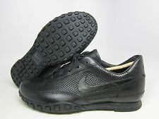 NEW MENS NIKE WAFFLE RACER III [313497-003]  BLACK//BLACK-ANTHRACITE