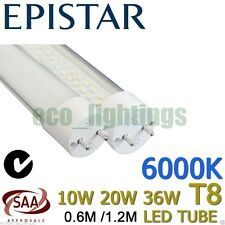 LED T8 Light tube lamp fluorescent replacement COOL WHITE 10W 20W 36W 60cm 120cm