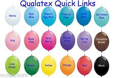 See Video 15 Quick Links Arch Baby Shower Latex Balloons w/ Tails Linking Loon o
