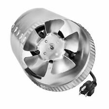 """1 2 4 pk 6"""" Inch Booster Fan Inline Blower Exhaust Ducting Vent for HPS LED Tent"""