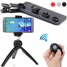 EEEKit for Smart Phone Camera Bluetooth Remote Control Shutter+Tripod Stand+Lens