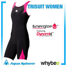 SALE! AQUA SPHERE LADIES WOMENS COMPRESSION TRI SUIT LADIES TRIATHLON WETSUIT