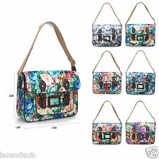 Lamoda Girls Satchel Messenger Floral Autumn BACK TO SCHOOL Bags Shoulder Bags
