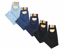 Levis 501 original fit classic straight leg button fly jeans