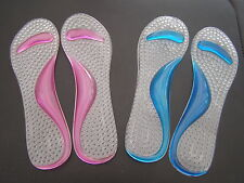 3/4 length gel insole with arch for court shoes and high heels