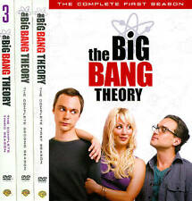 New The Big Bang Theory Complete Seasons 1 2 3, 1-3
