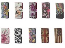 Hot Sale PU Leather Flip case cover & wallet Card slot Stand for Samsung Galaxy