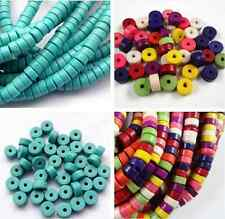 Wholesale100,50pcs nice Howlite Turquoise Chip Loose Spacer Beads 6mm 8mm TBZ
