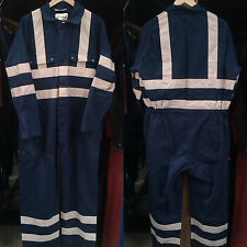 """Used High Visibility Overalls – 38"""" to 55"""" Sizes"""