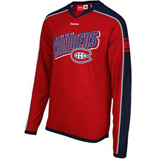 Montreal Canadiens Reebok Long Sleeve Jersey T-Shirt