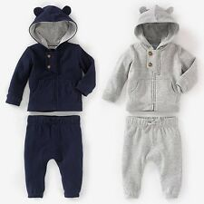 2PCS Boy's Hooded Sweatshirt +  Pants Outfits 1-3Y  #N043