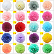 "15"" Tissue Paper Pompoms Pom Poms Flower Balls Handmade Wedding Party Decoration"