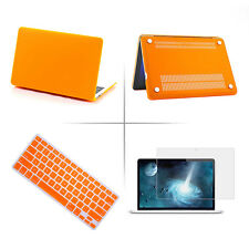 "Laptop Rubberized Hard Case Keyboard Cover For MacBook Air Pro Retina 11""13''15"""