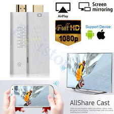 Wireless Wifi HDMI Display Dongle Screen Mirroring AirPlay ALLShare Case Adapter