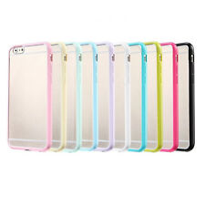 Bumper Transparent Soft Skin Back Case Cover Protector For Apple iPhone 6 4.7""