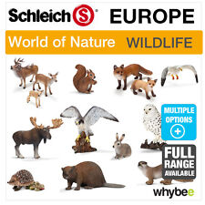SCHLEICH WORLD OF NATURE EUROPE ANIMAL TOYS & FIGURES FIGURINES ANIMAL MODELS