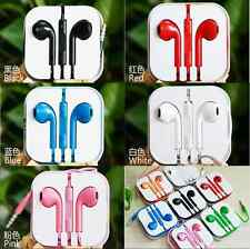 Earbuds Earphone Headset Remote Micphone For Apple iPhone iPod With Mic