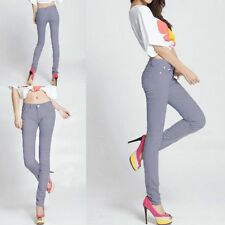 HOT COLOR PENCIL PANTS SKINNY STRECH JEANS
