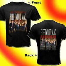 FLEETWOOD MAC ON WITH THE SHOW TOUR DATES Sep - Dec 2014 BLACK TEE 2-SIDES S-3XL