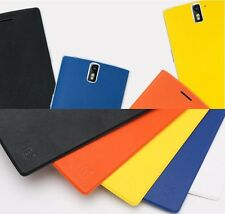 100% Original Colorful PU Leather Flip Case Cover For Oneplus One A0001